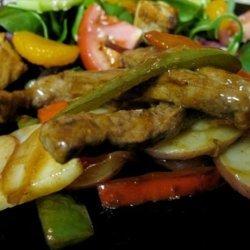 Pepper Steak With Potatoes recipe