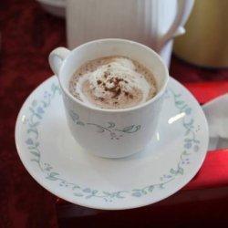 Hot Tiramisu Drink recipe