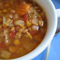 Good Eats Lentil Soup recipe