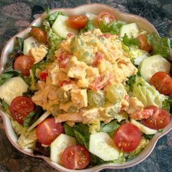Curried Chicken Salad With Fruit and Veggies recipe
