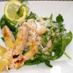 Asparagus, Beans & Arugula Salad With Mustard Vinaigrette recipe