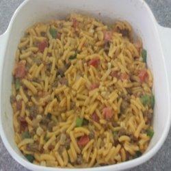 Skillet Taco Mac N Cheese recipe