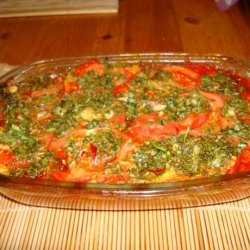 Potato and Tomato Pie recipe