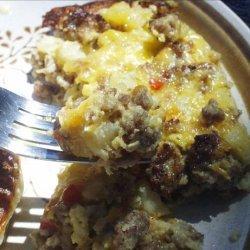 Easy Breakfast Pie recipe