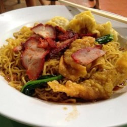Won Ton Noodles recipe