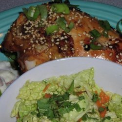 Ginger Lime Teriyaki Glazed Chicken recipe