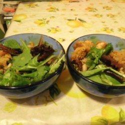 Crispy Breaded Shrimp With Cannellini Beans recipe