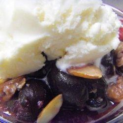 Sweet Cherry Crisp recipe