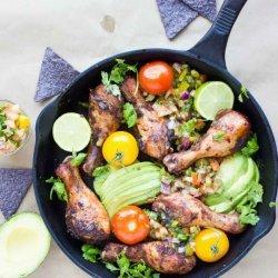 Salsa Chicken Skillet recipe