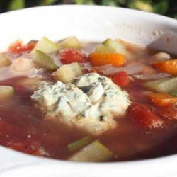 Tuscan Bean and Vegetable Soup recipe