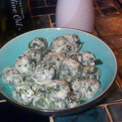 Gnocchi Di Ricotta E Spinaci (Ricotta and Spinach Gnocchi ) recipe