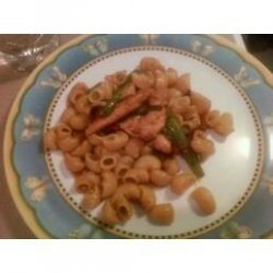 Saute of Chicken With Soy Sauce recipe