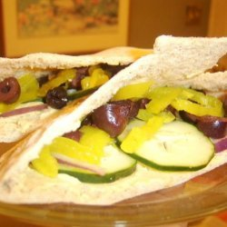 Hummus Wraps or Pockets recipe