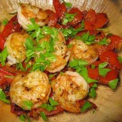 Shrimp & Tunisian Fresh Tomato Relish recipe