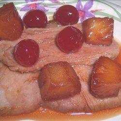 Cherry Pineapple Holiday Ham Glaze recipe