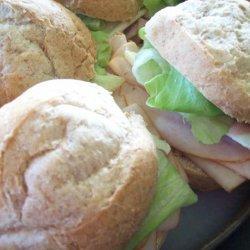 Turkey Sandwich With Cranberry Aioli (Low Fat) recipe