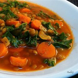 Lentil Tomato Soup from Taste of Home recipe