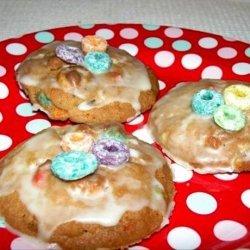 Fruit Loop Cookies and Orange Icing recipe