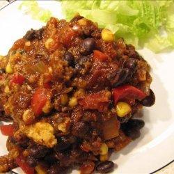 Vegetarian Tamale Pie recipe