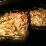 Lower Fat Macaroni and Six Cheeses recipe