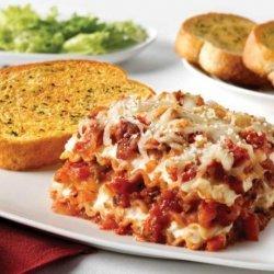 Sausage & Peppers Lasagna recipe