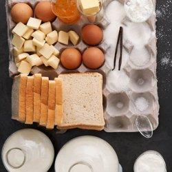 White Chocolate Bread Pudding recipe