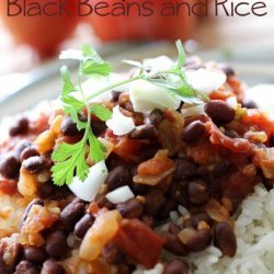 Spicy Black Beans and Rice recipe