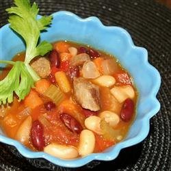 Bean and Sausage Soup recipe