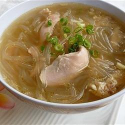 Chicken Long Rice Soup recipe