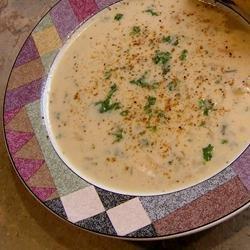 Easy Cream of Chicken Rice Soup recipe