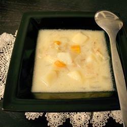 Hearty Potato, Bacon and Onion Soup recipe