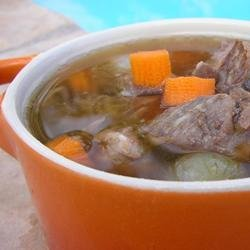Prime Rib Soup recipe