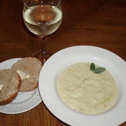 Cream of Cauliflower and Stilton Soup recipe