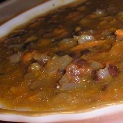 Black Bean Salsa Soup recipe