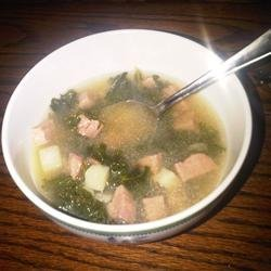 Simple Kale Soup recipe
