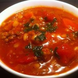 Lamb Barley Soup recipe