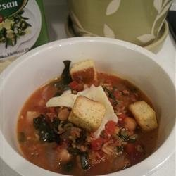 Tuscan Chard and Cannellini Bean Soup recipe