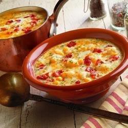 Chunky Bacon and Potato Soup recipe