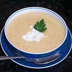 Sweet Potato and Apple Soup recipe