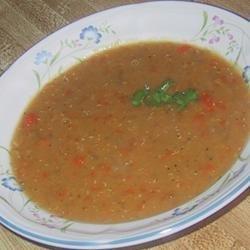Favorite Lentil Soup recipe