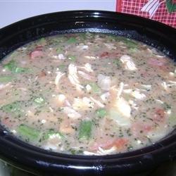 Chicken Stock Gumbo recipe