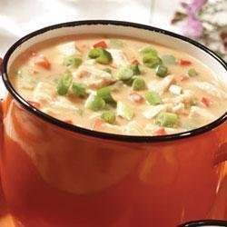 Campbell's Kitchen Cheesy Chicken Chowder recipe