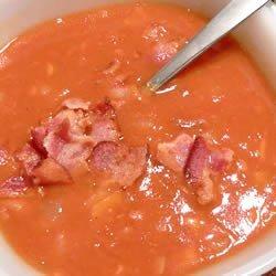 Bean and Bacon Soup recipe