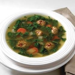 Sausage and Spinach Soup recipe