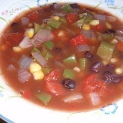 Cajun Corn Soup recipe