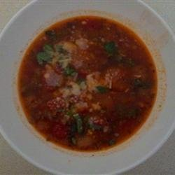Tomato and Bread Soup recipe