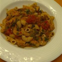 Chicken and Tomato Stew with Arugula and Cannellini recipe