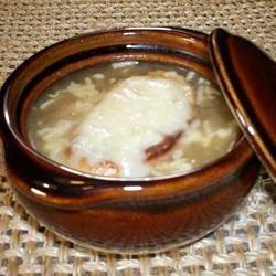 French Onion Soup X recipe