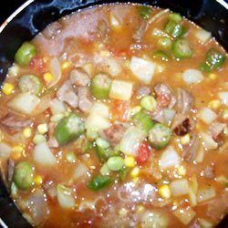 Southern Style Beef Stew recipe
