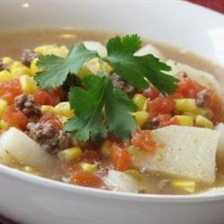 Easy Green Chile Stew recipe